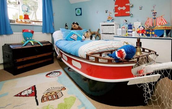 cameretta bambini pirata