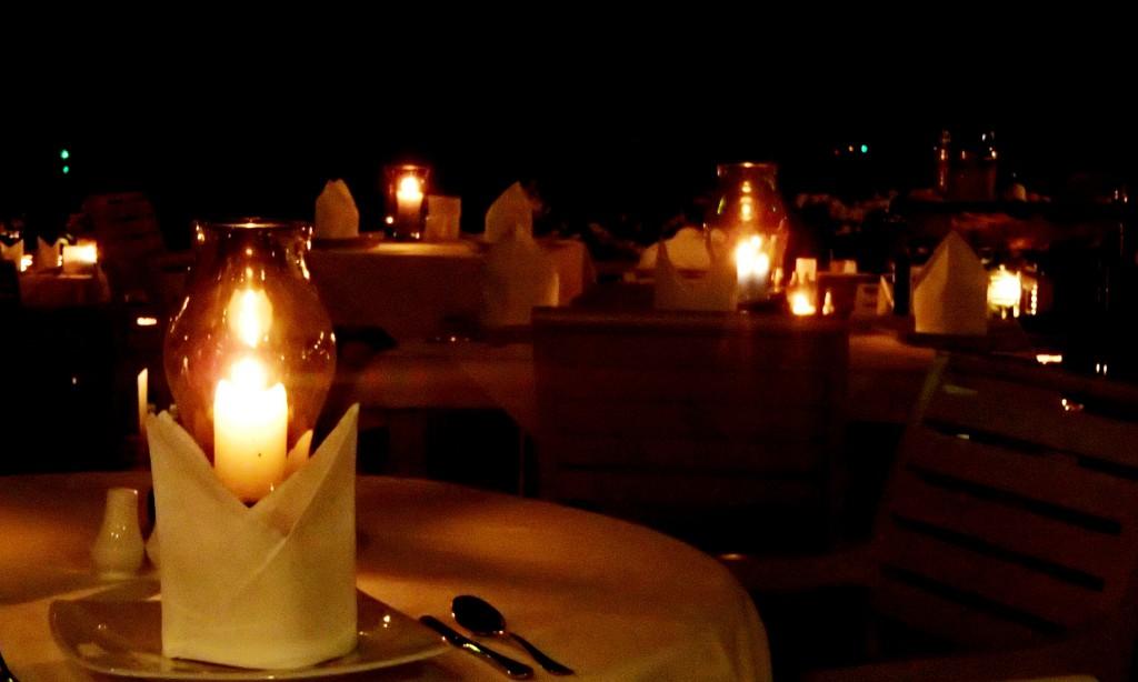 Organizzare una cena romantica