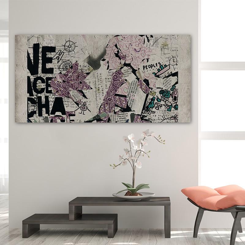 Come fare un quadro moderno fn59 regardsdefemmes - Quadri per casa moderna ...